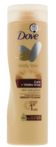 DOVE 250ML GLOW TAN LTN MEDIUM TO DARK