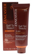 LANCASTER 50ML SELF TAN BEAUTY GEL LIGHT