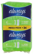 ALWAYS ULTRA 34'S NORMAL MEGA PACK
