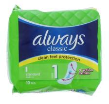 ALWAYS CLASSIC STANDARD 10'S