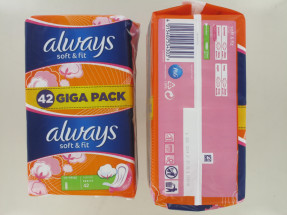 ALWAYS SOFT & FIT 42S NORMAL