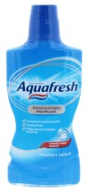 AQUAFRESH 500ML M/WASH FRESHMINT