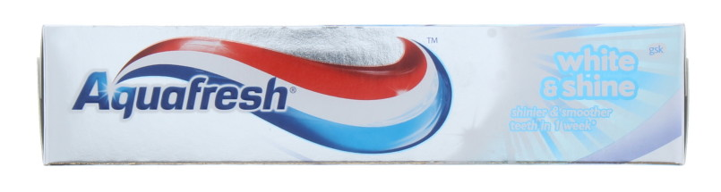 AQUAFRESH 75ML T/P WHITE & SHINE