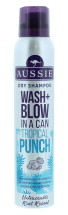 AUSSIE 180ML DRY S/POO WASH&BLOW TROPIC