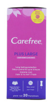 CAREFREE P.LINERS PLUS LARGE SCENTED 20S