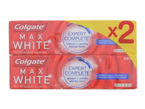 COLGATE 2X75ML T/P MAX WHITE