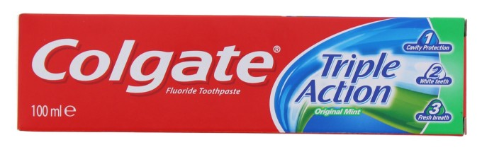 COLGATE 100ML T/P TRIPLE ACT