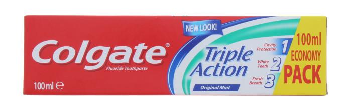 COLGATE 100ML T/P TRIPLE ACT