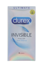 DUREX 6'S INVISIBLE THIN SENS
