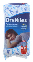 HUGGIES DRY BOY 8-15 YRS 9S NEW PK
