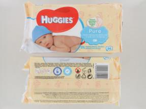 HUGGIES BABY WIPES 56S PURE NEW PK