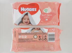 HUGGIES BABY WIPES 56S SOFT NEW PK