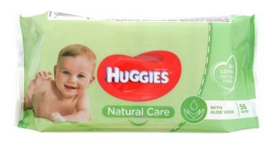 HUGGIES BABY WIPES 56S NATURAL