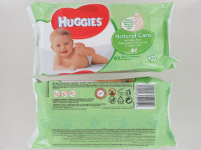 HUGGIES BABY WIPES 56S NAT NEW PK
