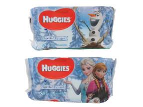 HUGGIES BABY WIPES 56'S FROZEN