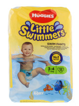 HUGGIES SWIM MED 3-4 12'S NEW PK