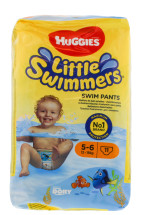 HUGGIES SWIM LARGE 5-6 11S NEW PK