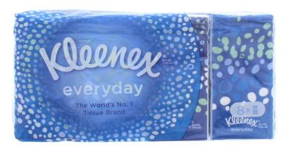 KLEENEX EVERYDAY TISSUES 8PK