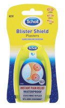 SCHOLL BLISTER SHIELD PLASTERS 5'S