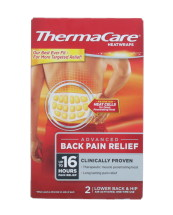 THERMACARE HEAT WRAP LOW BACK 2PK