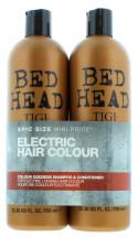 TIGI BED HEAD 2X750ML S/POO&COND GODDESS