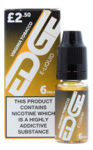 EDGE 10ML E LIQUID VIRG TOBACCO 6MG PMP