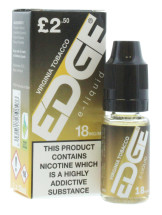 EDGE 10ML E LIQUID VIRG TOBACCO 18MG PMP