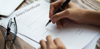 Salary Certificate in UAE