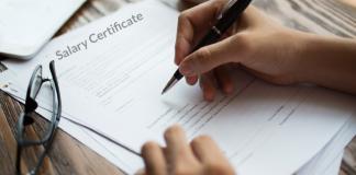 Salary Certificate in UAE