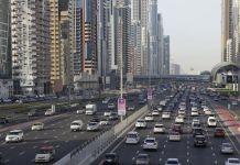 Abu Dhabi traffic fines