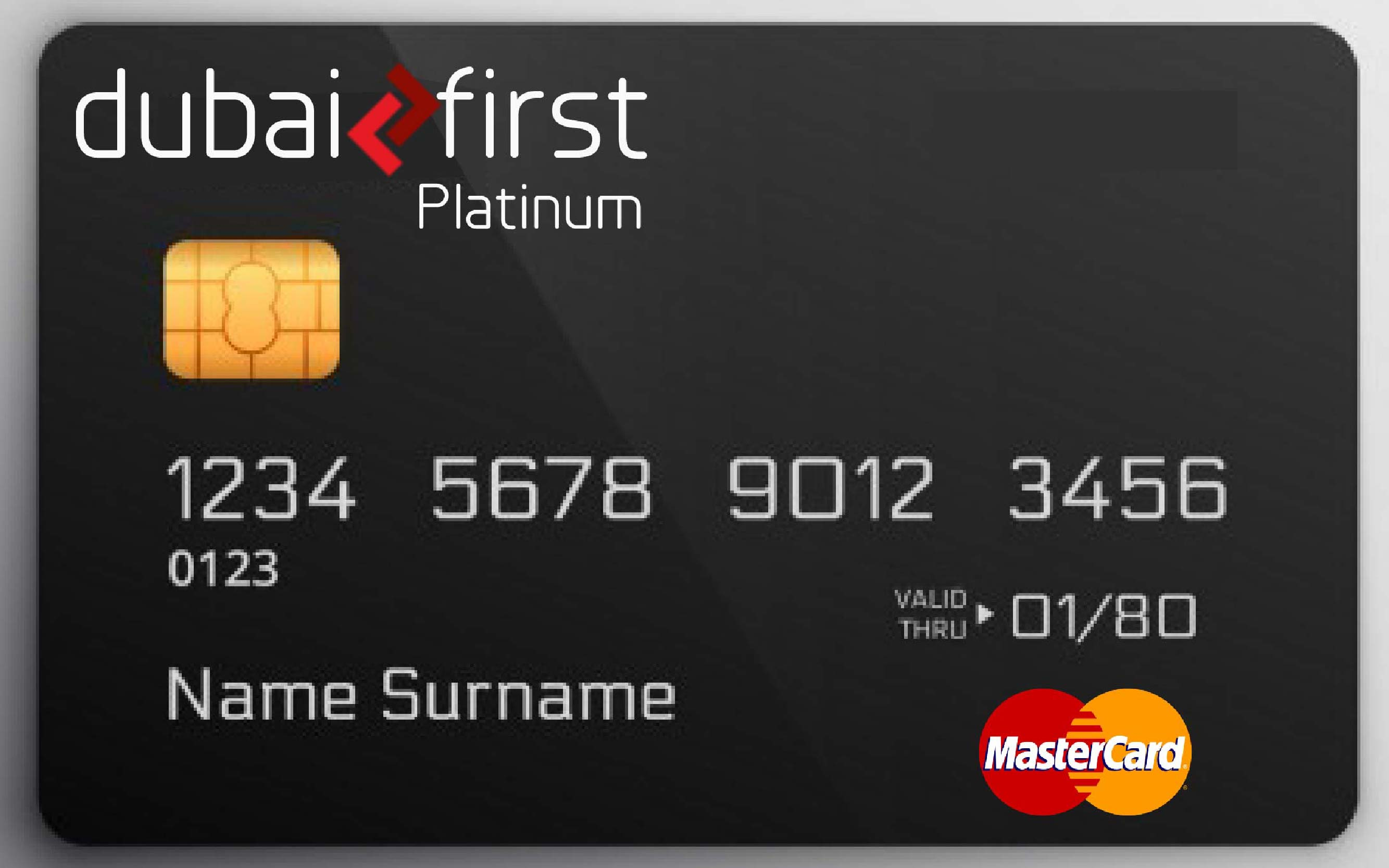 dubai first platinum card