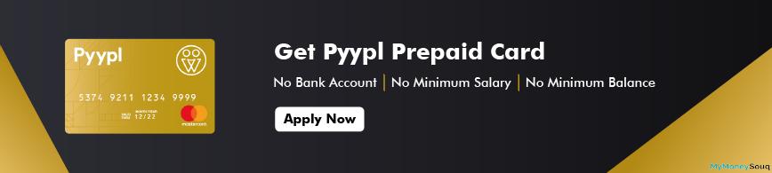 Pyypl Prepaid Digital Card