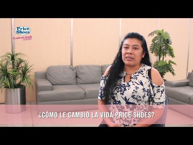 Video: como cambio la vida Price Shoes a Miriam Barrera