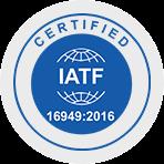 Certified IATF Logo