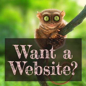 Want a Website? We make Websites.