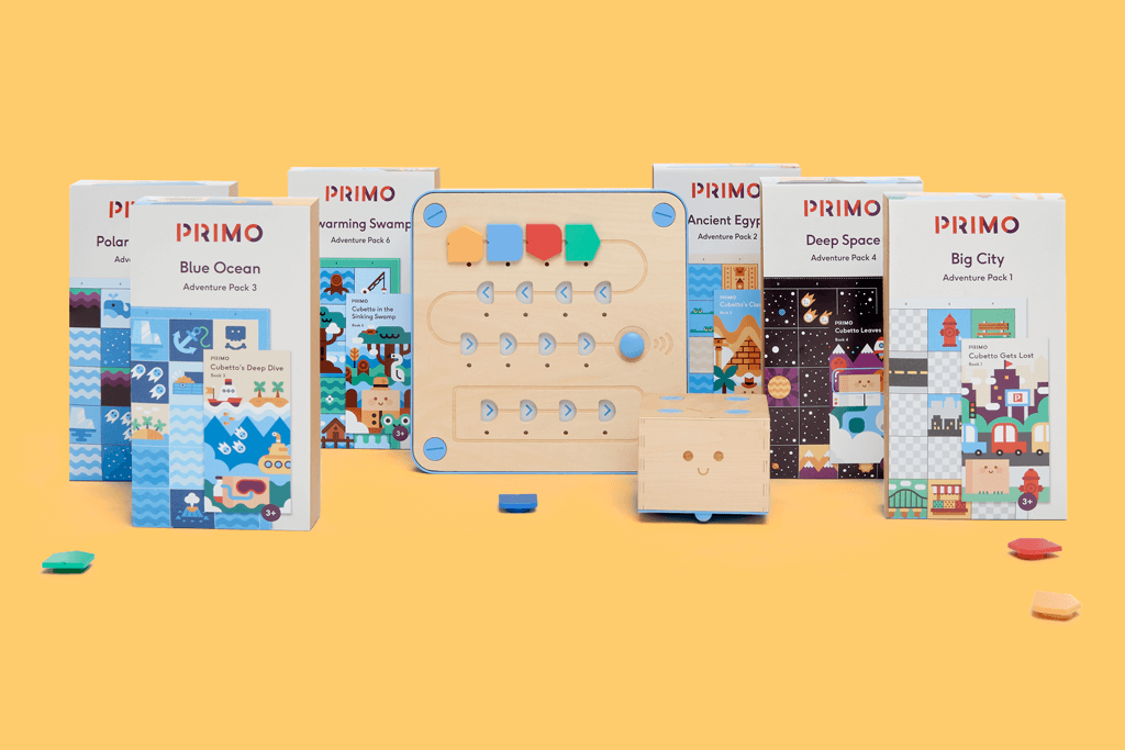Cubetto Deluxe Plus + FREE Flash Cards