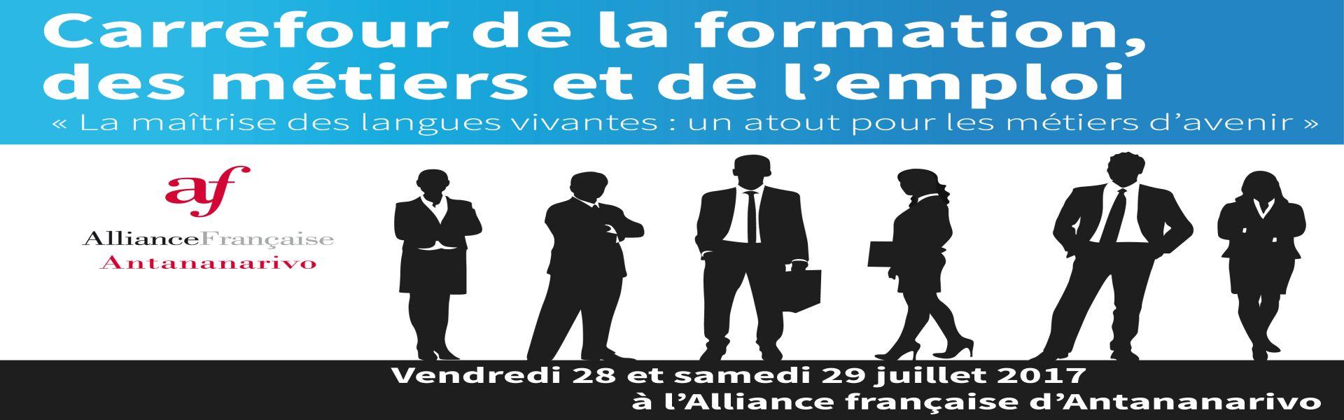 LAPLUME.MG au premier Carrefour de la formation, des métiers et de l'emploi.