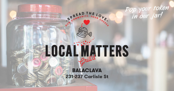Grill'd Balaclava – Local Matters