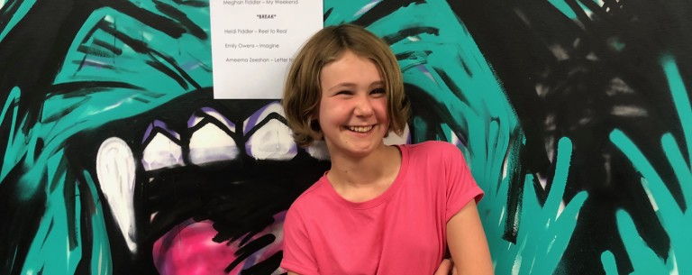 12 year old Emily wins her first film competition