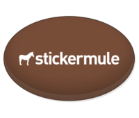 Custom buttons | Free shipping | Sticker Mule