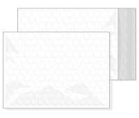 Blank bubble mailers