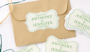Wedding stickers