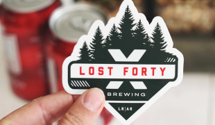 Brewery stickers