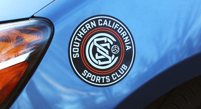 Southern California Sports Club Magnet