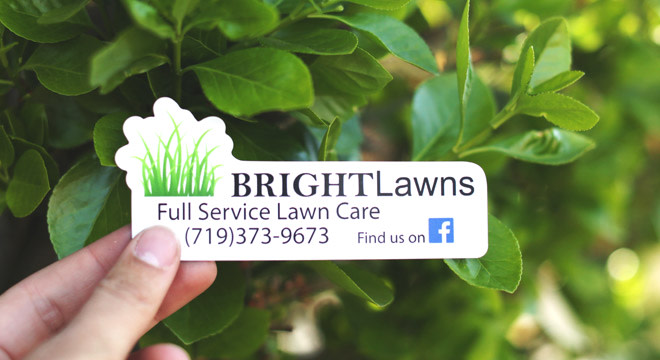 Lawn care business magnet
