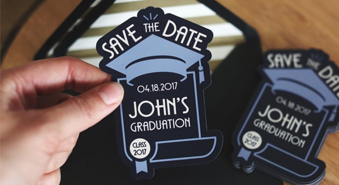 Graduation Save the Date Magnet