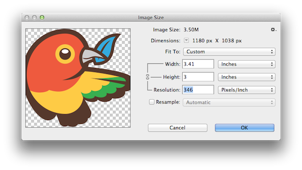 How to find the dpi of your designs and artwork