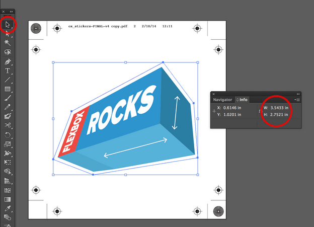 PDF-Abmessungen in Adobe Illustrator