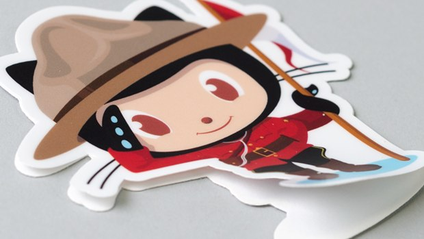 Github-octocat-matte-finish-sticker
