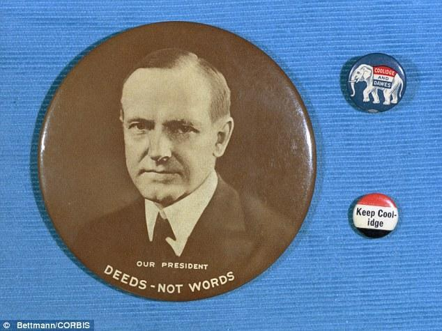 Calvin Coolidge Campaign Buttons, 1924